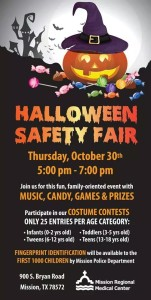 Halloween Fair Flyer 2014
