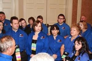TX ENA Caucus Susan Wallace-Vernatter & Marcia Fuller 9/19 General Assembly